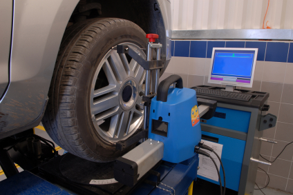 4 wheel alignment at PTX Tyre Centre Gorey Wexford