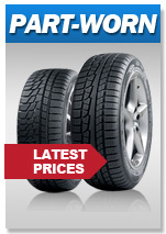 Latest Best Part Worn Tyre Prices from PTX Tyre Centre Gorey Wexford